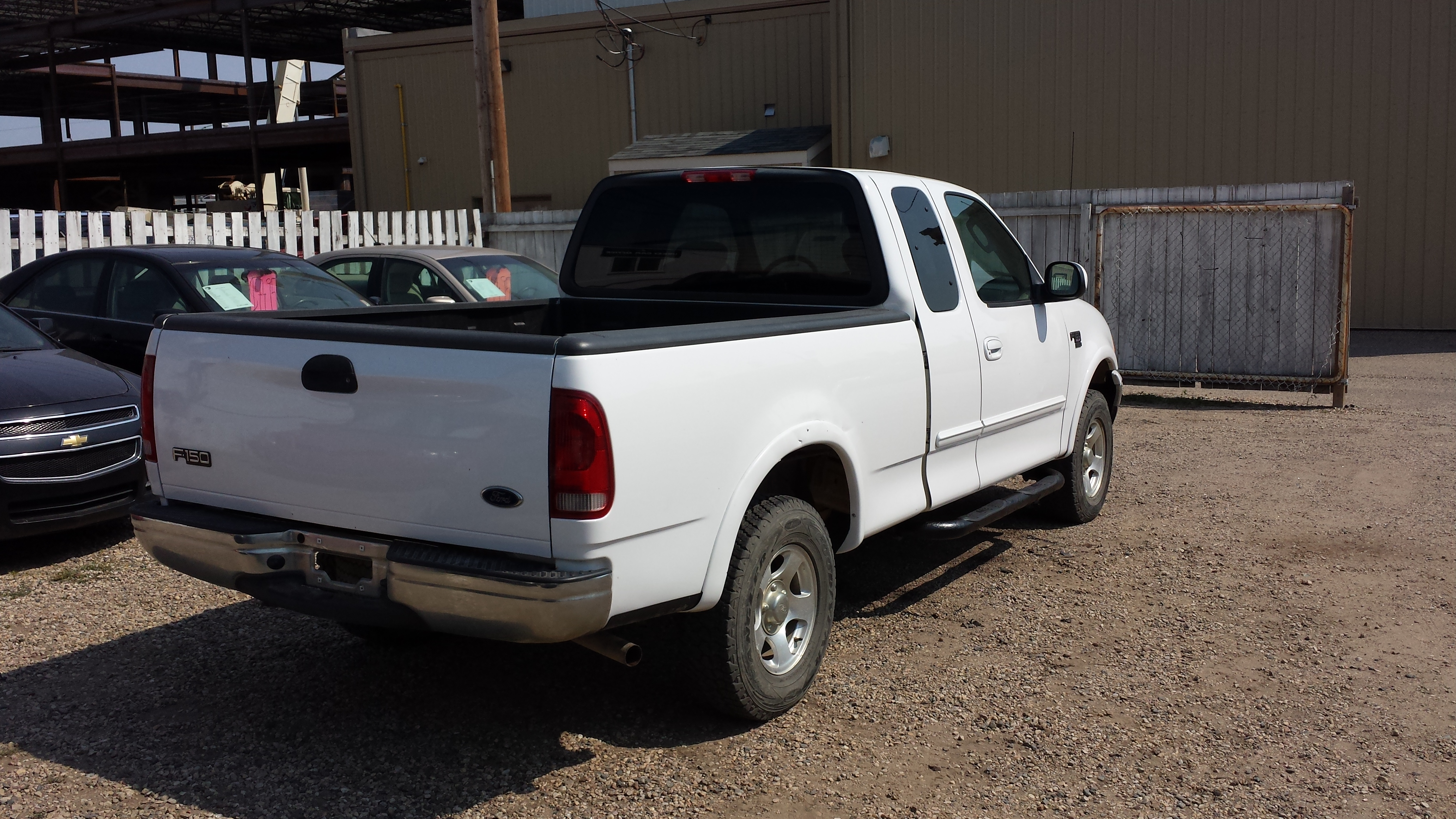 on 1997 Ford F 150 4x4