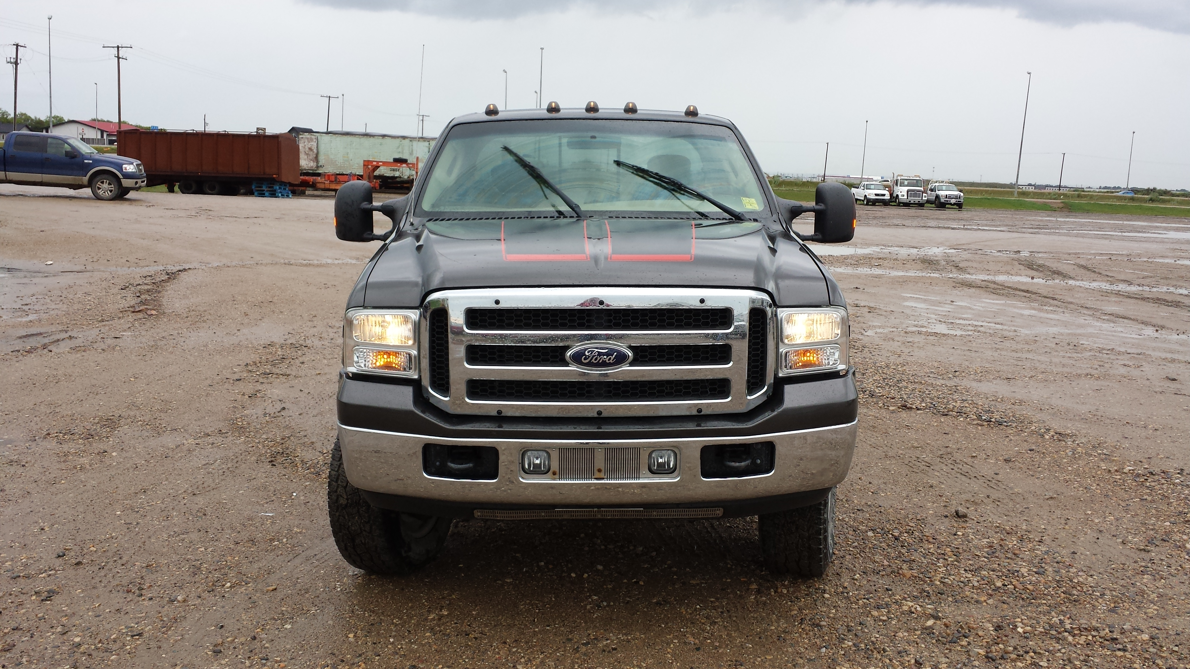 carrier truck landoll price for super new trucks jerr tow badass ford low f ds front profile lifted a steel sale dan duty with lariat